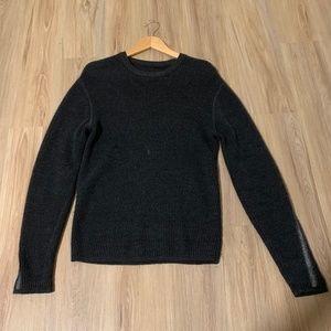 lululemon Knit Sweater Dark Grey